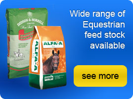 Animal feed, horse feed