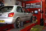 wheel alignment, john bean