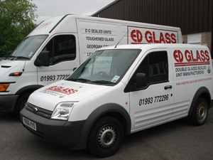 ED Glass based in Oxfordshire supply glazed sealed units, double glazed units and more!