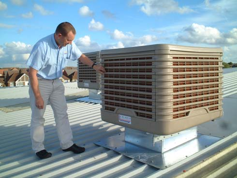 Image result for evaporative cooling