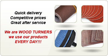 Quick delivery Competitive prices Great after service. We are WOOD TURNERS we use our products EVERY DAY!!!