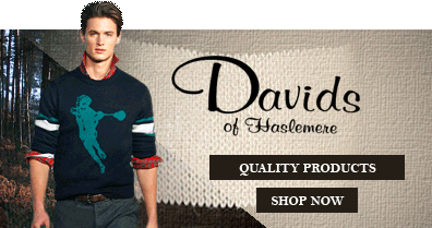 Davids of Haslemere - quality products - shop now