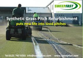 Hockey Pitch Cleaning