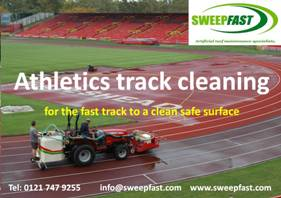 Running Track Cleaning