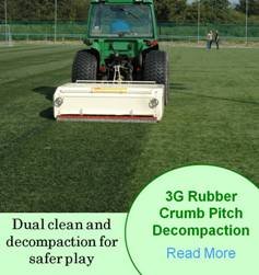 football pitch cleaning