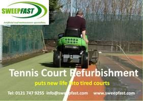 Tennis Court Refurb