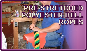 Pre-Stretched Polyester Bell Ropes