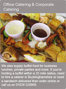 Office Catering & Corporate Catering