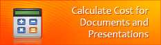 Calculate Cost for Documents and Presentations