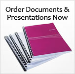 Online document printing Order Documents and Presentations Now