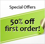 Special Offers on document printing - 50% off first order