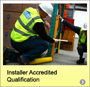 accredited pallet racking installation qualification QCF QUH 800
