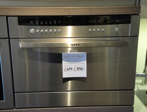 Countertop Dishwasher Japanese : Dishwasher. Neff S65m63n1gb 45cm High Compact Builtin Dishwasher ...