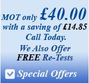 Special Offers | Cheap Mot Aylesbury | Best Place for MOts in Aylesbury