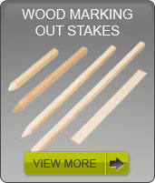 wood marking stakes