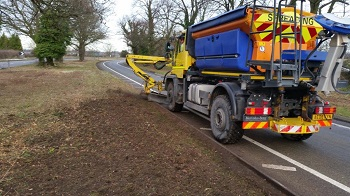 Motorway Hedge Cutting