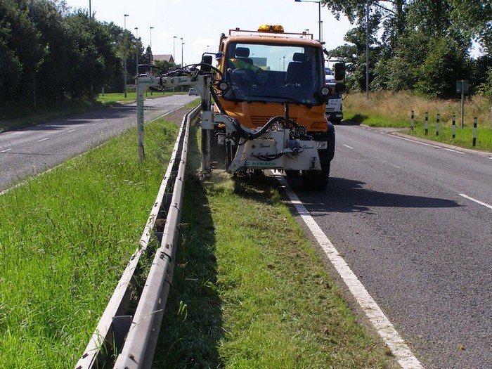 Hedge Cutting Highway