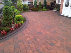 Image of Block paving in Swadlincote, Derbyshire