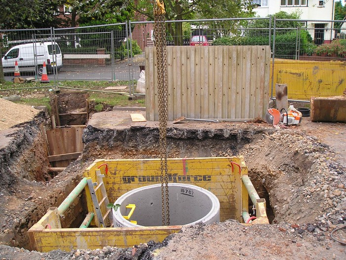 Drainage and Sewer Connection in Derby
