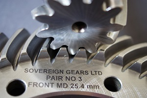 Spiral Bevel Gear From Sovereign Gears Ltd