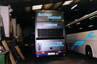 Bus body repaints, bus signage