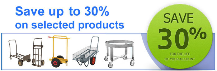 Click here to view our products including post trolleys, garden centre trolleys, sack trucks, hand trucks, dollies and coffin trolleys