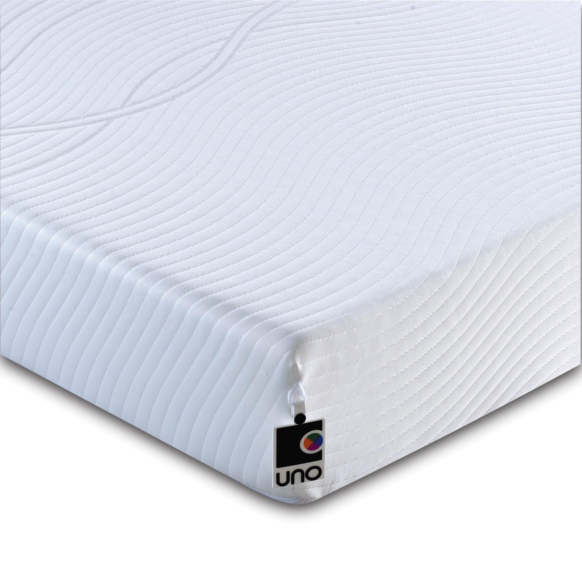 uno vitality plus memory foam mattress